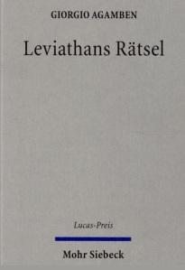 Leviathans Ratsel Agamben 2014
